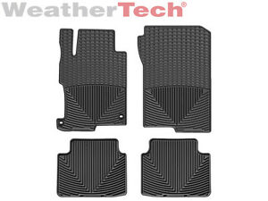 Weathertech All Weather Floor Mats For Honda Accord Sedan 2013 2017 Black