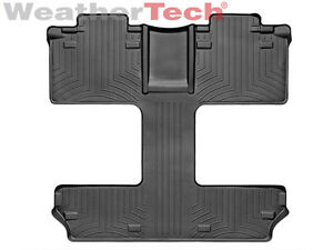 Weathertech Floorliner For Toyota Sienna 7 Pass 2011 2019 2nd 3rd Row Black