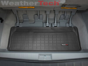 Weathertech Cargo Liner Trunk Mat For Toyota Sienna 2011 2019 Black
