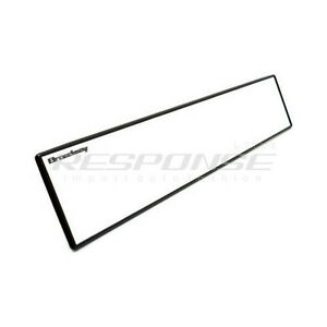 Broadway Bw 850 Clip On Rear View Mirror 400mm Flat Aluminum Plated Universal