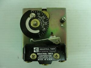 New Industrial Timer Model Cm 7 120vac