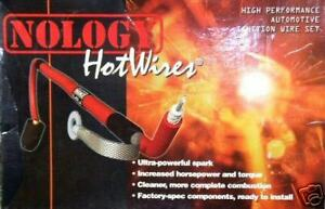 Nology Red Hotwires Spark Plug Hot Wires Set 93 01 Acura Integra Gsr Type R Gs r