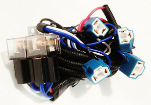 Lincoln Headlight Relay Wiring Harness 4 Head Lamp Systems Fix Dim Lights H4