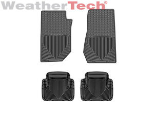 Weathertech All weather Floor Mats Jeep Wrangler 2007 2013 Black