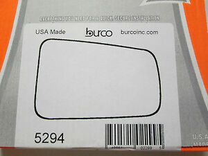 2008 2011 Ford Focus Fits Right Passenger Side Burco Mirror Glass 5294