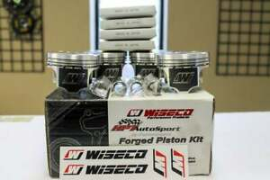 Wiseco Forged Pistons 99 5mm Bore 9 0 Cr For Subaru Sti 2004 2013 K598m995ap