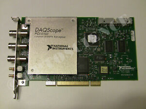 National Instruments Pci 5102 Digitizer Card Ni Daq Scope