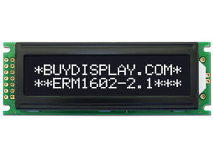 5v Black 16x2 Character Lcd Display Module W tutorial hd44780 white Backlight