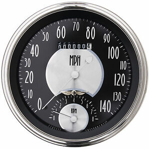 Classic Instruments All American Tradition Series Speedo Tach At50slc 5 Hot Rod