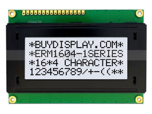 5v Wide Angle 16x4 Character Lcd Module Display W tutorial hd44780 bezel