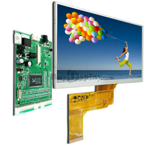 7 7 0 Inch Tft Car Lcd Display Module w vga video Av Board optional Touch Panel