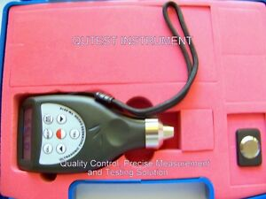 Digital Ultrasonic Thickness Gauge Meter Iron Steel Glass Integrate Probe Hi Res