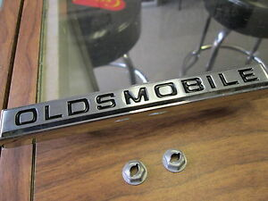 1967 Cutlass 442 New oldsmobile Grill Emblem Gm Authorized Restoration Part