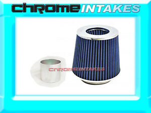 Blue Universal 2 75 70mm Air Filter For Mercedes benz Air Intake pipe
