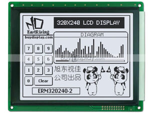 5 7 white 320x240 Graphic Lcd Module ra8835 sed1335 controller optional Touch
