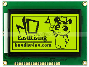 128x64 Graphic Lcd Module Display st7920 Controller paraller serial Interface