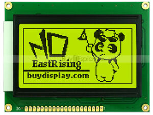 12864 128x64 Dots Graphic Lcd Module Display Glcd W ks0107 ks0108 Controller