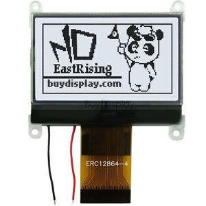 1 8 128x64 glcd graphic Lcd Module Display Spi Serial st7565p White Backlight