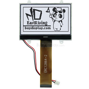 Lcd Display serial Spi Cog Module 3 3v 128x64 Graphic Black White W tutorial