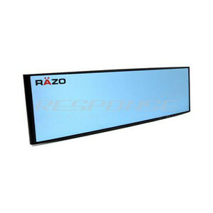Razo Rg47 Clip On Wide Rear View Mirror 10 5 Convex Blue Tint Universal Jdm