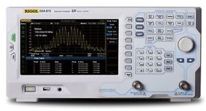 Rigol Spectrum Analyzer Dsa815 Tracking Generator 9 Khz 2 1 5 Ghz 135dbm Emi
