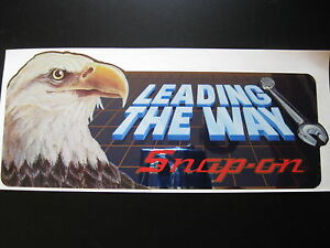 Snap on Snap On Tools Tool Box Eagle Vintage Sticker Racing Decal Garage Rod