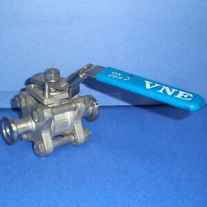 Vne 1000 Wog 1 2 Inch Dn15 Stainless Steel Ball Valve pzb