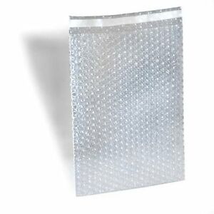 1000 4 X 4 Clear Bubble Out Bags Protective Wrap Pouches Self Seal 4x4 Seal