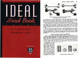 Ideal 1948 Hand Book Reloading Ammunition #35