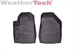 Weathertech Floorliner For Jeep Cherokee 2014 2015 1st Row Black