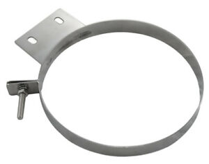 Pypes Ford Diesel Truck 10 Polished Stainless Steel Bed Stack Strap Clamp