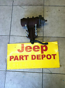 1999 2004 Jeep Grand Cherokee Steering Gear Box Oem Used 6cyl 8cyl