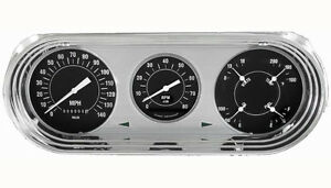 Classic Instruments 63 64 65 Chevy Nova Package Gauge Cluster Dash hot Rod