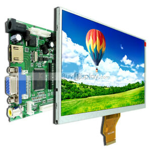 7 Inch Tft Lcd Module Display W hdmi vga video Av Driver Board For Raspberry Pi