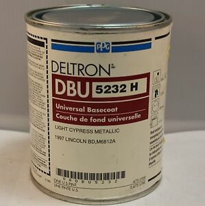 Ppg Deltron Universal Basecoat Paint Dbu 5232 Light Cypress Metallic Pint