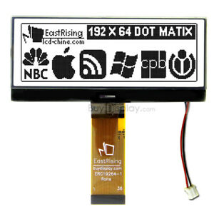 4 3 Graphic Lcd Module Display 192x64 Dot serial Spi black On White W tutorial