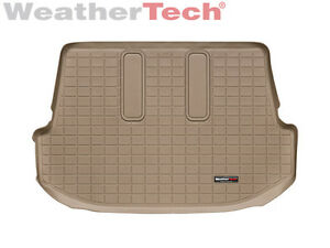 Weathertech Cargo Liner For Toyota Fortuner Behind 3rd Row 2007 2013 Tan