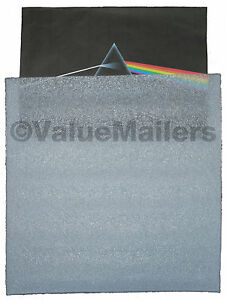 Insert Pads Sleeves 50 Lp Record Mailers Foam Pads Albums Scrapbook 12 25x12 25