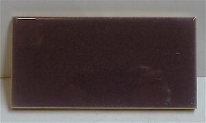 American Encaustic La Antique Subway Tile Plum