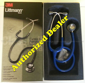 2136 3m Littmann Classic Ii Pediatric Stethoscope Royal Blue Nib