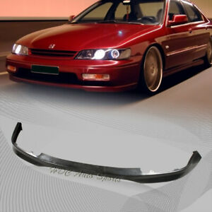 For 1994 1995 Honda Accord T R Style Polyurethane Front Lower Bumper Spoiler Lip