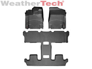 Weathertech Floor Mats Floorliner For Nissan Quest 2011 2017 Black