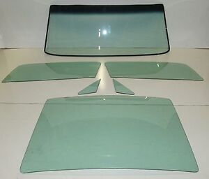 Green Glass 1967 1968 Ford Mustang Fastback Windshield Vent Door Back