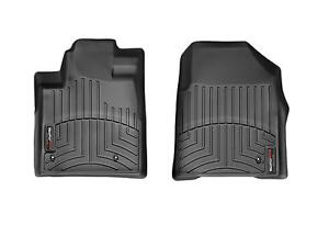 Weathertech Floor Mats Floorliner For Honda Pilot 2009 2015 1st Row Black