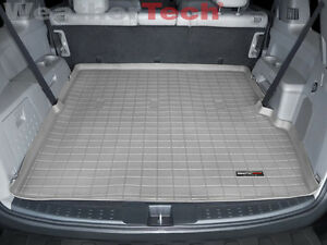 Weathertech Cargo Liner Trunk Mat For Honda Pilot 2009 2015 Grey