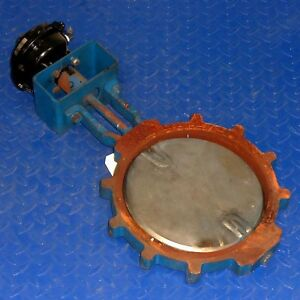 Matryx Model Mx60 Vane Actuator 600500 W 10in Butterfly Valve
