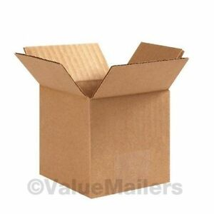 12x9x6 50 Shipping Packing Mailing Moving Boxes Corrugated Carton