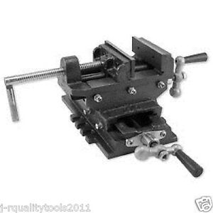 4 2 Way Milling Vise With Cross Slide For Drill Press