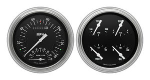 Classic Instruments 51 52 Chevy Car Package W Hot Rod Gauges Dash Insert Tach