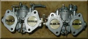 Solex C40 Addhe Carburetors Adj Idle Air Jets